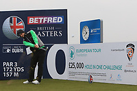 David Law (SCO) on the 10th tee during the Pro-Am of the Betfred British Masters 2019 at Hillside Golf Club, Southport, Lancashire, England. 08/05/19<br /> <br /> Picture: Thos Caffrey / Golffile<br /> <br /> All photos usage must carry mandatory copyright credit (© Golffile | Thos Caffrey)