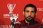 19 November 2010: Pablo Mastroeni. The Colorado Rapids held a press conference at BMO Field in Toronto, Ontario, Canada as part of their preparations for MLS Cup 2010, Major League Soccer's championship game.