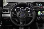 Car pictures of steering wheel view of a 2018 Subaru Levorg GTS Premium 5 Door Wagon