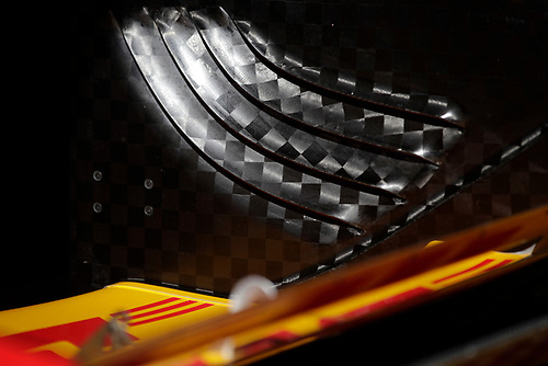 26-27 February, 2016, Avondale, Arizona USA<br /> Ryan Hunter-Reay rear wing detail<br /> ©2016, Phillip Abbott<br /> LAT Photographic