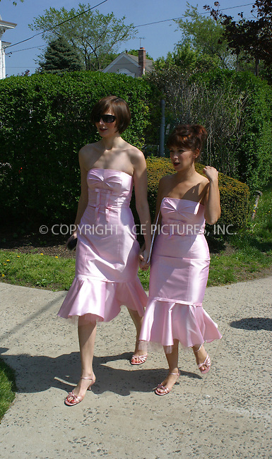 WWW.ACEPIXS.COM . . . . .***EXCLUSIVE!!! FEE MUST BE NEGOTIATED BEFORE USE!!!***....NEW YORK, MAY 10, 2005....Bridesmaids on the set of the new Ed Burns film 'The Groomsmen.'......Please byline: PAUL CUNNINGHAM - ACE PICTURES..... *** ***..Ace Pictures, Inc:  ..Craig Ashby (212) 243-8787..e-mail: picturedesk@acepixs.com..web: http://www.acepixs.com