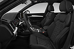 Front seat view of a 2018 Audi SQ5 Premium Plus 5 Door SUV front seat car photos