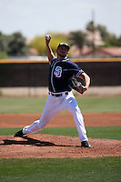 Chris Huffman - San Diego Padres 2016 spring training (Bill Mitchell)