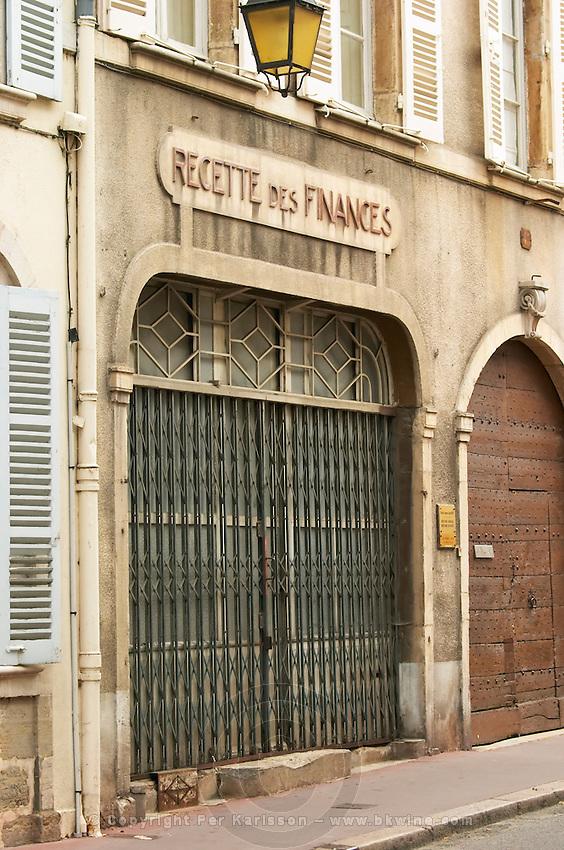 recette des finances beaune cote de beaune burgundy france