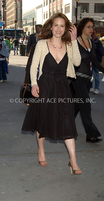 WWW.ACEPIXS.COM . . . . . ....NEW YORK, APRIL 11, 2006....Elizabeth Reaser at the 2006/2007 TBS and TNT UpFront.....Please byline: KRISTIN CALLAHAN - ACEPIXS.COM.. . . . . . ..Ace Pictures, Inc:  ..(212) 243-8787 or (646) 679 0430..e-mail: info@acepixs.com..web: http://www.acepixs.com