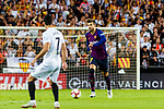 Gerard Pique of FC Barcelona in action during their La Liga 2018-19 match between Valencia CF and FC Barcelona at Estadio de Mestalla on October 07 2018 in Valencia, Spain. Photo by Maria Jose Segovia Carmona / Power Sport Images