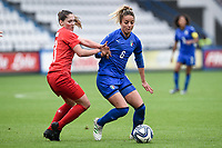 Martina Rosucci-Sandrine Mauron<br /> Reggio Emilia 29-5-2019 <br /> Womens Football Friendly Match <br /> Italy - Switzerland <br /> Photo Daniele Buffa / Image Sport /Insidefoto