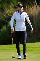 Anne Van Dam Team Europe on the 7th green during Day 1 Fourball at the Solheim Cup 2019, Gleneagles Golf CLub, Auchterarder, Perthshire, Scotland. 13/09/2019.<br /> Picture Thos Caffrey / Golffile.ie<br /> <br /> All photo usage must carry mandatory copyright credit (© Golffile | Thos Caffrey)