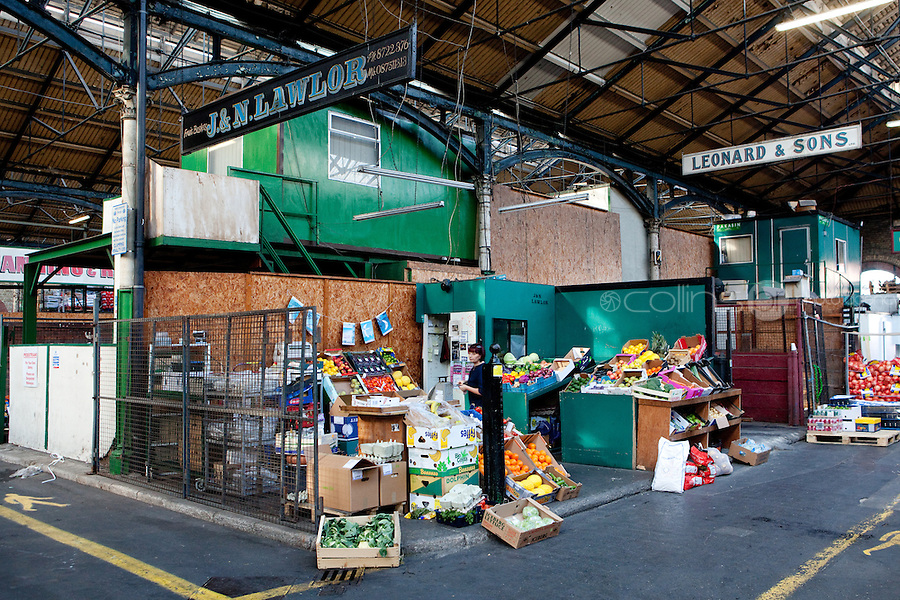 26/8/2011. Dublin Fruit and Vegetable Market.  J and N Lawlor has been working at the Dublin Fruit and Vegetable Market. for over 40 years. Picture James Horan/Collins Photos