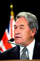 NZ Deputy Prime Minister Winston Peters. Post Cabinet media press conference at Parliament in Wellington, New Zealand on Monday, 18 March 2019. Photo: Dave Lintott / lintottphoto.co.nz