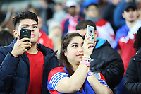 Panama fans prior to kick off of the International Friendly match between Wales and Panama at The Cardiff City Stadium, Wales, UK. Tuesday 14 November 2017