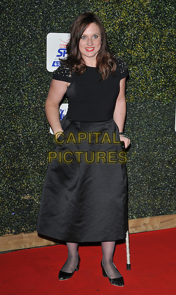 Natasha Baker attends the Daily Mirror Pride of Sport Awards 2015, Grosvenor House Hotel, Park Lane, London, England, UK, on Wednesday 25 November 2015. <br /> CAP/CAN<br /> &copy;Can Nguyen/Capital Pictures