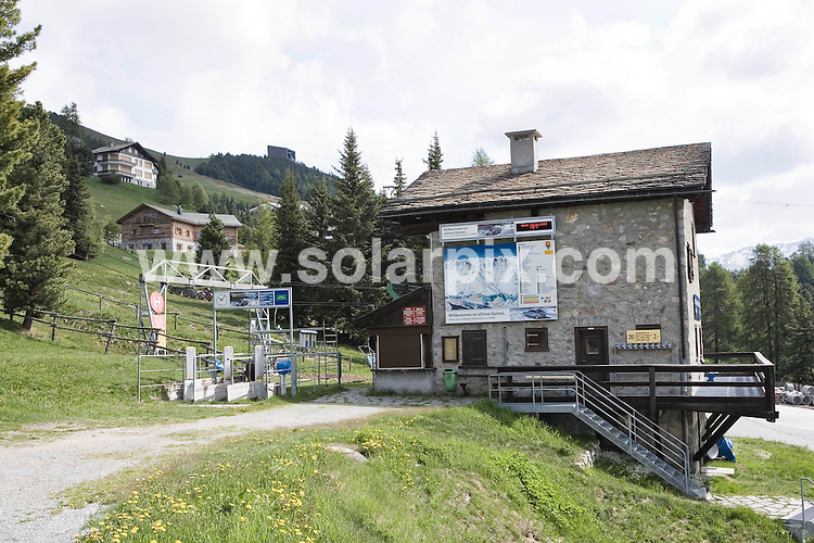 **ALL ROUND EXCLUSIVE PICTURES FROM SOLARPIX.COM**.**SYNDICATION RIGHTS FOR UK AND SPAIN ONLY**.Former German tennis star Boris Becker and his fiancee Lilly Kerssenberg (32) will marry in the Regina Pacis Chapel in the Swiss Alps on June 12.This pic:  Valley Station with chairlift which will be used by the guests..JOB REF:  9186     CPR        DATE: 08.06.09.**MUST CREDIT SOLARPIX.COM OR DOUBLE FEE WILL BE CHARGED**.**ONLINE USAGE FEE GBP 50.00 PER PICTURE - NOTIFICATION OF USAGE TO PHOTO @ SOLARPIX.COM**.**CALL SOLARPIX : +34 952 811 768 or LOW RATE FROM UK 0844 617 7637**