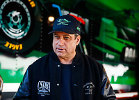 Feb 25, 2018; Chandler, AZ, USA; NHRA top fuel driver Kebin Kinsley during the Arizona Nationals at Wild Horse Pass Motorsports Park. Mandatory Credit: Mark J. Rebilas-USA TODAY Sports