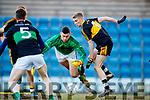 Gavin O'Shea Dr Crokes in action against Michael Aodh Martin Nemo Rangers in the Munster Senior Club Championship Final at Páirc Ui Rinn, Cork on Sunday.