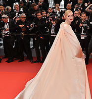 """CANNES, FRANCE. May 14, 2019: Elle Fanning at the gala premiere for """"The Dead Don't Die"""" at the Festival de Cannes.<br /> Picture: Paul Smith / Featureflash"""