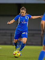20190823 - OUD HEVERLEE BELGIUM : KRC Genk's Riete Loos pictured during the female soccer game between the OHL Ladies vs KRC Genk Ladies, the first game for both teams in the Belgian Women's Super League , Friday 23rd  August 2019 at the OHL Jeugdcomplex , Belgium . PHOTO SPORTPIX.BE | SEVIL OKTEM