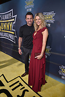 """HOLLYWOOD - SEPTEMBER 24: Rob McElhenney and Kaitlin Olson attend the red carpet premiere event for FXX's """"It's Always Sunny in Philadelphia"""" Season 14 at TCL Chinese 6 Theatres on September 24, 2019 in Hollywood, California. (Photo by Stewart Cook/FXX/PictureGroup)"""