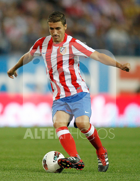 Atletico de Madrid's Gabi during UEFA Europa League third qualifying round match. July 28, 2011. (ALTERPHOTOS/Alvaro Hernandez)