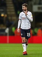 Bolton Wanderers' Luke Murphy <br /> <br /> Photographer Andrew Kearns/CameraSport<br /> <br /> The EFL Sky Bet Championship - Bolton Wanderers v West Bromwich Albion - Monday 21st January 2019 - University of Bolton Stadium - Bolton<br /> <br /> World Copyright © 2019 CameraSport. All rights reserved. 43 Linden Ave. Countesthorpe. Leicester. England. LE8 5PG - Tel: +44 (0) 116 277 4147 - admin@camerasport.com - www.camerasport.com