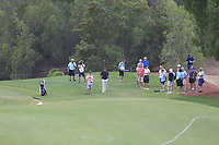 Shane Lowry (IRL) on the 15th during the 1st round of the DP World Tour Championship, Jumeirah Golf Estates, Dubai, United Arab Emirates. 21/11/2019<br /> Picture: Golffile | Fran Caffrey<br /> <br /> <br /> All photo usage must carry mandatory copyright credit (© Golffile | Fran Caffrey)