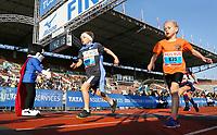 Nederland - Amsterdam - 2017 .  De Kids Run van de Marathon van Amsterdam..    Foto mag niet in negatieve context gebruikt worden.  Foto Berlinda van Dam / Hollandse Hoogte