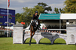 Stamford, Lincolnshire, United Kingdom, 8th September 2019, Gemma Tattersall (GB) & Santiago Bay during the Show Jumping Phase on Day 4 of the 2019 Land Rover Burghley Horse Trials, Credit: Jonathan Clarke/JPC Images