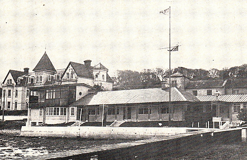 The Royal Cork Yacht Club's clubhouse in 1970