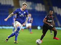 4th February 2020; Cardiff City Stadium, Cardiff, Glamorgan, Wales; English FA Cup Football, Cardiff City versus Reading; Aden Flint of Cardiff City