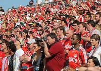 The fans at BMO Field in Toronto. Toronto FC 0, Kansas City Wizards 0, BMO Field, Toronto, June 21, 2008.