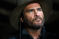 The Sisters Brothers (2018)<br /> Joaquin Phoenix<br /> *Filmstill - Editorial Use Only*<br /> CAP/MFS<br /> Image supplied by Capital Pictures