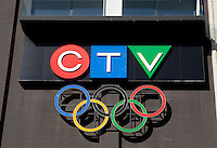 CTV logo is pictured in Toronto April 19, 2010. CTV is a Canadian English language television network, the largest privately owned network, and the main television asset of CTVglobemedia, one of the country's largest media conglomerates.