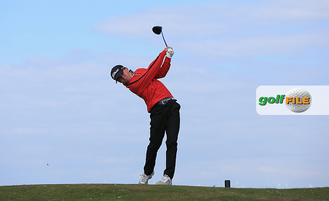 George Goddard during Round Two of the West of England Championship 2016, at Royal North Devon Golf Club, Westward Ho!, Devon  23/04/2016. Picture: Golffile | David Lloyd<br /> <br /> All photos usage must carry mandatory copyright credit (&copy; Golffile | David Lloyd)