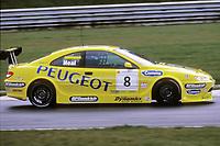 2001 British Touring Car Championship #8 Matt Neal (GBR). Peugeot Sport UK. Peugeot 406 Coupé.