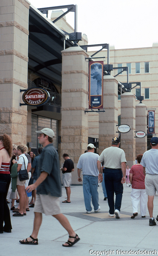 Ballparks: Pittsburgh PNC Park. Left field entrances--Federal Street.