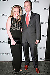 Maureen Nash and David Bernett arrive at the annual Whitney Art Party hosted by the Whitney Contemporaries, and sponsored by Max Mara, at Skylight at Moynihan Station on May 1, 2013.
