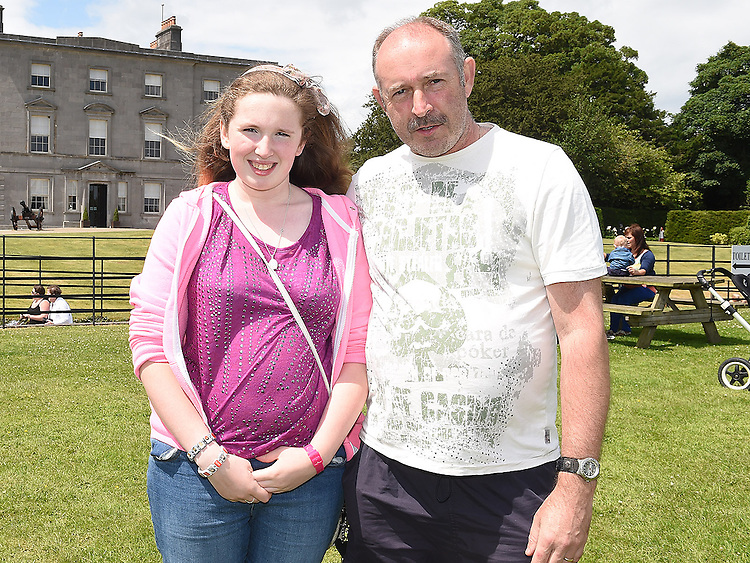 Louise and Fiachra Quigley pictured at Oldbridge House open day. Photo:Colin Bell/pressphotos.ie