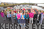 A fond farewell to Colin Gardner who after 14 years in Cahersiveen is returning to England.  Colin pictured seated first came to Cahersiveen for fishing 40 years ago and on Wednesday a farewell party was held for him at the Marina Cahersiveen it was attended by friends and colleagues from ACARD, Social Services and FAS.