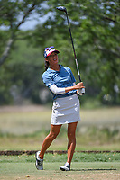 Celine Boutier (FRA) watches her tee shot on 5 during round 3 of the 2019 US Women's Open, Charleston Country Club, Charleston, South Carolina,  USA. 6/1/2019.<br /> Picture: Golffile | Ken Murray<br /> <br /> All photo usage must carry mandatory copyright credit (© Golffile | Ken Murray)