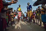 Students dance during a break from classes in the Loreto Primary School in Rumbek, South Sudan. The school is run by the Institute for the Blessed Virgin Mary--the Loreto Sisters--of Ireland.