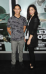 """Booboo Stewart and his sister Fivel Stewart at the Los Angeles premiere of """"Alex Cross"""" held at the Arclight Theater on October 15, 2012."""