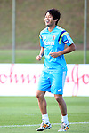 Atsuto Uchida (JPN), JUNE 4, 2014 - Football / Soccer : Japan's national soccer team Samurai Blue training session at Japan's team base camp in Itu Brazil. (Photo by Kenzaburo Matsuoka/AFLO)