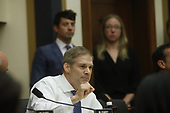 United States Representative Jim Jordan (Republican of Ohio) questions former Trump-Russia special counsel Robert Mueller as he gives testimony before the United States House Judiciary Committee on the results of his investigation on Capitol Hill in Washington, DC on Wednesday, July 24, 2019.<br /> Credit: Stefani Reynolds / CNP<br /> (RESTRICTION: NO New York or New Jersey Newspapers or newspapers within a 75 mile radius of New York City)