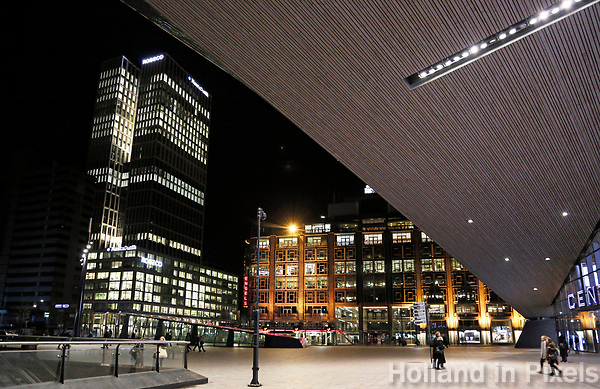 Nederland Rotterdam 2017. Centraal Station. Foto Berlinda van Dam / Hollandse Hoogte