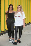Abbie Holborn and Chloe Ferry at MTV HQ ahead of the premiere of Season 15 of Geordie Shore. London, United Kingdom - Tuesday August 29, 2017