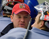 Petr Jaros (Czech Republic - Video Coach) - Team Czech Republic practiced at the Urban Plains Center in Fargo, North Dakota, on Saturday, April 18, 2009 in the morning prior to their final match against Sweden during the 2009 World Under 18 Championship.