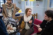Westbourne Forum Neighbourhood Plan meeting and Winter Health Fair, Edward Wilson School, Paddington, London.