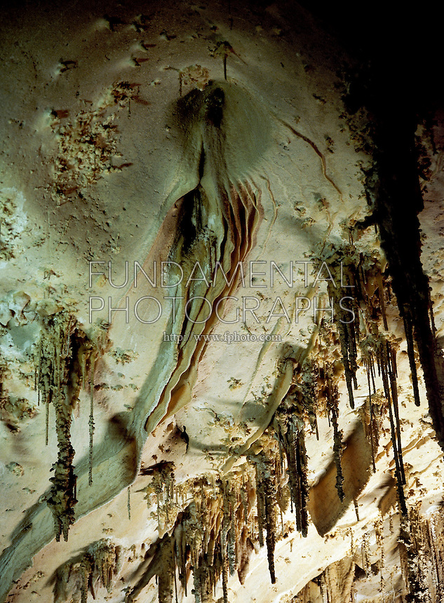 STALACTITES &amp; STALAGMITES <br />