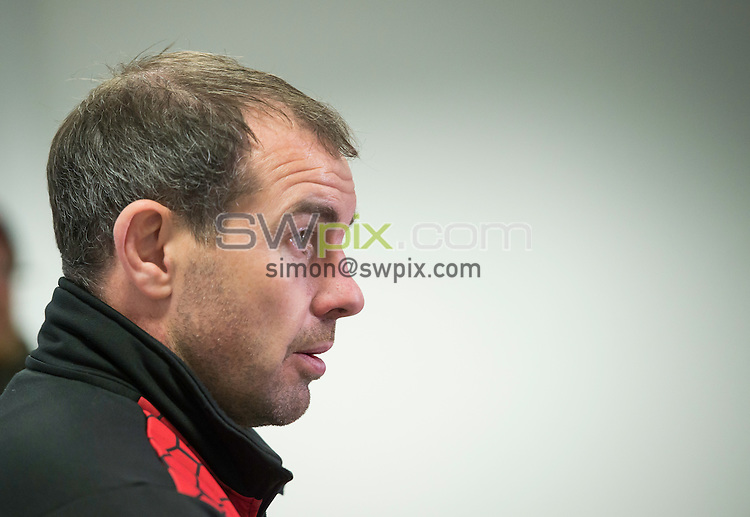 Picture by Allan McKenzie/SWpix.com - 11/02/2017 - Rugby League - Betfred Super League - Salford Red Devils v Wigan Warriors - AJ Bell Stadium, Salford, England - Ian Watson in post match interviews.