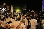 Israel, Tel Aviv-Yafo, Simchat Torah in Rabin Square